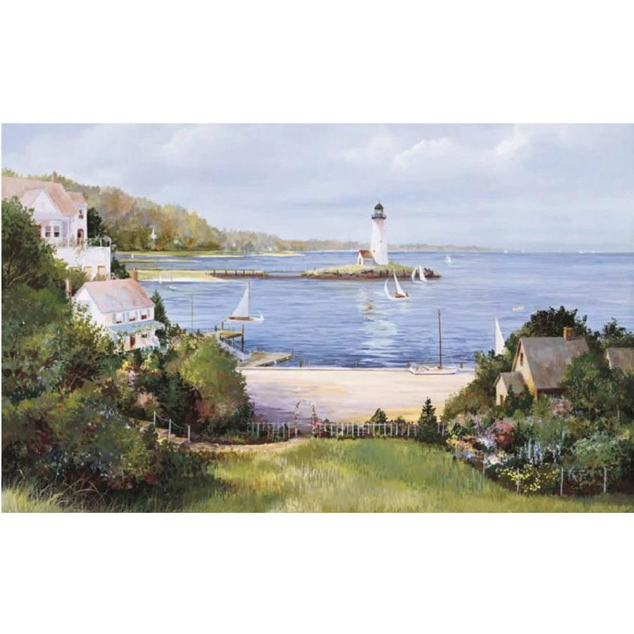 shop environmental graphics lighthouse cove wall mural at shop environmental graphics lake in the woods wall mural