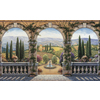 Environmental Graphics Tuscan Villa Mural