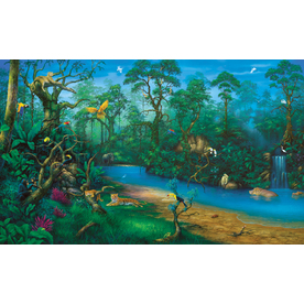 shop environmental graphics jungle dreams wall mural at decorating theme bedrooms maries manor jungle baby