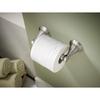 Delta Windemere Brushed Nickel Surface Mount Spring-Loaded Toilet Paper Holder