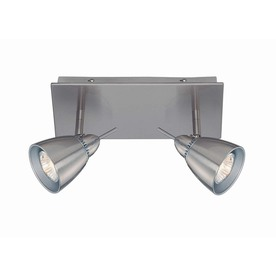 Lite Source 14-in H Steel-Painted Wall-Mounted Lamp with Metal Shade