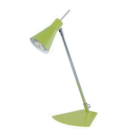 "Lite Source 14-3/4"" Adjustable Chrome LED Desk Lamp"