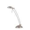 Lite Source 22-in Adjustable Steel-Painted LED Desk Lamp with Metal Shade
