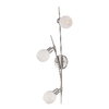Lite Source 7.25-in H Steel-Painted Wall-Mounted Lamp with Glass Shade