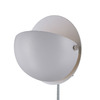 Lite Source 6-in H White Wall-Mounted Lamp with Metal Shade