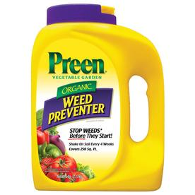 Preen Organic Vegetable Garden Weed Preventer