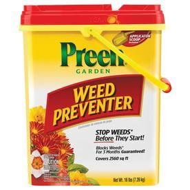 Preen 16 Lb. Drum Garden Weed Preventer