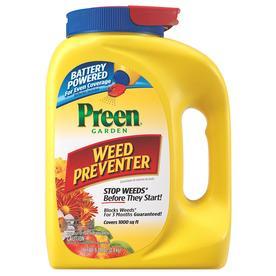 Preen 100-oz Preen Garden Weed Preventer Battery Spreader