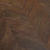 Congoleum Structure 12-Piece 9-in x 48-in Cocoa Twill Left Peel-And-Stick Exotic Luxury Commercial Vinyl Planks