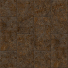 Congoleum LVT 10-Piece 12-in x 24-in Groutable Brown Glaze Glue (Adhesive) Granite Luxury Vinyl Tile