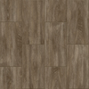 Congoleum LVT 10-Piece 12-in x 24-in Groutable Graphite Glue (Adhesive) Wood Luxury Vinyl Tile