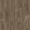 Congoleum LVT 10-Piece 12-in x 24-in Groutable Graphite Glue (Adhesive) Wood Luxury Vinyl Tile
