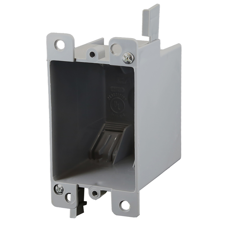 Electrical Wall Boxes : Shop cantex cu in gang plastic old work wall