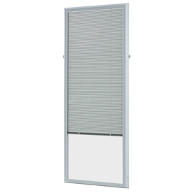 ODL White Aluminum 0.625-in Slat Light Filtering Cordless Mini-Blinds (Common Blind Width: 25-in; Actual Blind Size: 24.75-in x 64-in)