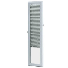 ODL 36-in L White Aluminum 0.59-in Slat Light Filtering Cordless Mini-Window Blinds