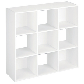 ClosetMaid White 9 Cube Organizer