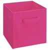 ClosetMaid 10.5-in x 11-in 1-Drawer Fuchsia Fabric Drawer
