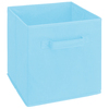 ClosetMaid 10.5-in W x 11-in H Pastel Blue Fabric Drawer