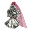 Pewter Angel Ornament Set with Lights
