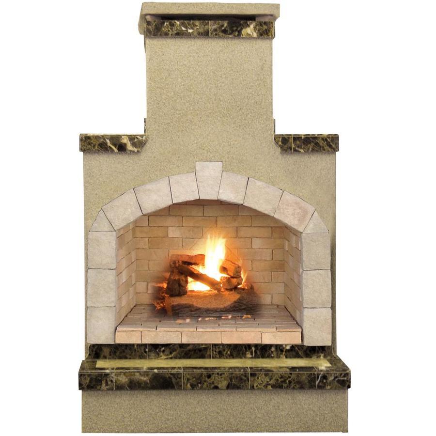 shop cal flame 55 000 btu brown composite outdoor liquid
