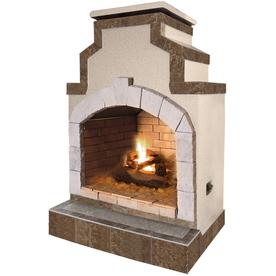 shop cal flame 55 000 btu tan composite outdoor liquid