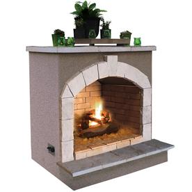 shop cal flame 55 000 btu beige composite outdoor liquid