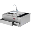 Cal Flame Modular Outdoor Sink and Side Burners