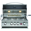 Cal Flame 4-Burner Built-In Liquid Propane and Natural Gas Infrared Grill