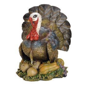 Joseph&#039;s Studio Thanksgiving Resin Turkey Figure