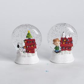 Peanuts Christmas Peanuts LED Glitter Disk