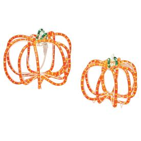Roman Lights 286-Count Orange Pumpkin Halloween String Lights