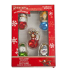 Rudolph the Red-Nosed Reindeer 5-Pack Mini Rudolph and Jingle Buddies Ornaments