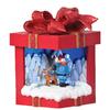Rudolph the Red-Nosed Reindeer Christmas Resin Lighted Musical Rudolph Gift Box