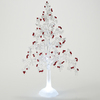 Roman Christmas Plastic Lighted Berry Tree Figure