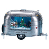 Amusements Christmas Resin Lighted Musical Trailer