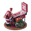 Amusements Christmas Resin Lighted Musical Retro Pinball Machine Figure