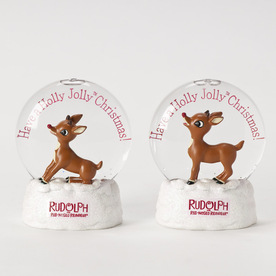 Rudolph the Red-Nosed Reindeer Rudolph LED Glitter Disk Assorted