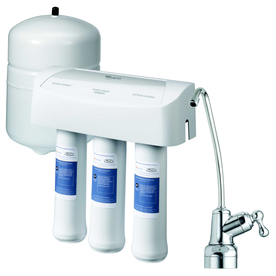 Shop whirlpool under sink complete filtration system with reverse osmosis at - Lowes water filter under sink ...