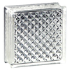 Pittsburgh Corning Delphi Thinline 10-Pack Glass Blocks (Common: 8-in H x 8-in W x 3-in D; Actual: 7.75-in H x 7.75-in W x 3.12-in D)