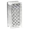 Pittsburgh Corning Delphi Thinline 16-Pack Glass Blocks (Common: 8-in H x 4-in W x 3-in D; Actual: 7.75-in H x 3.75-in W x 3.12-in D)