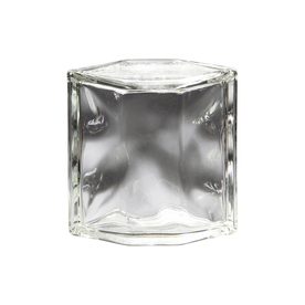 Shop pittsburgh corning hedron decora premiere glass block for Glass blocks for crafts lowes