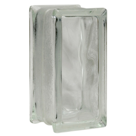 Pittsburgh Corning 7-3/4-in x 3-3/4-in x 3-7/8-in Glass Block