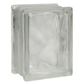 Pittsburgh Corning Decora Premiere Glass Block (Common: 8-in H x 6-in W x 4-in D; Actual: 7.75-in H x 5.75-in W x 3.87-in D)