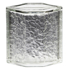 Pittsburgh Corning Hedron Icescapes Premiere Glass Block (Common: 8-in H x 6-in W x 4-in D; Actual: 7.75-in H x 5.75-in W x 3.87-in D)