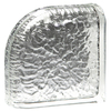 Pittsburgh Corning Encurve Icescapes Premiere Glass Block (Common: 8-in H x 8-in W x 4-in D; Actual: 7.75-in H x 7.75-in W x 3.87-in D)
