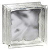 Pittsburgh Corning Decora Premiere Glass Block (Common: 8-in H x 8-in W x 4-in D; Actual: 7.75-in H x 7.75-in W x 3.87-in D)