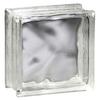 Pittsburgh Corning Decora Premiere Glass Block (Common: 8-in H x 8-in W x 4-in D; Actual: 7.75-in H x 7.75-in W x 3.87-in D)
