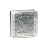 Pittsburgh Corning Icescapes Premiere Glass Block (Common: 8-in H x 8-in W x 4-in D; Actual: 7.75-in H x 7.75-in W x 3.87-in D)