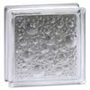 Pittsburgh Corning Seascapes Thinline 10-Pack Glass Blocks (Common: 8-in H x 8-in W x 3-in D; Actual: 7.75-in H x 7.75-in W x 3.12-in D)