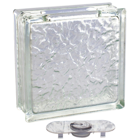 Shop Pittsburgh Corning Decobloc Ice Thinline 4 Pack Glass